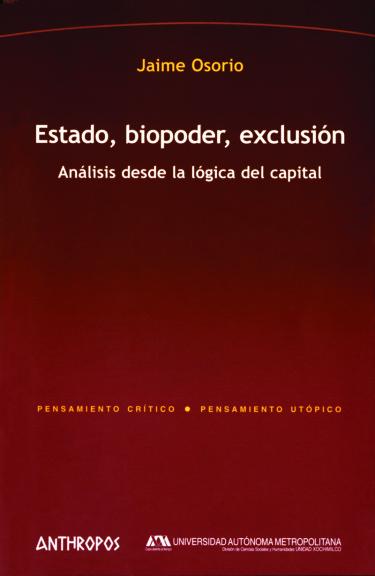 Estado, biopoder, exclusión