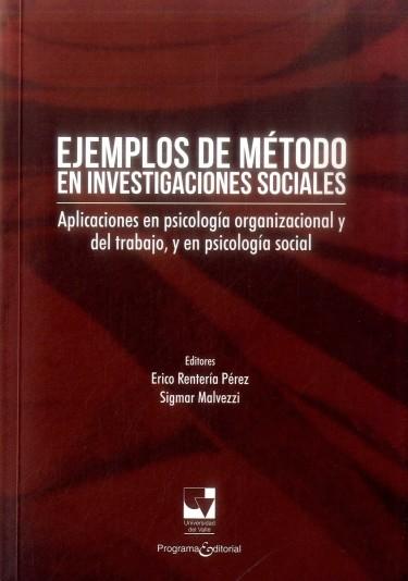 Ejemplo De Método En Investigaciones Sociales