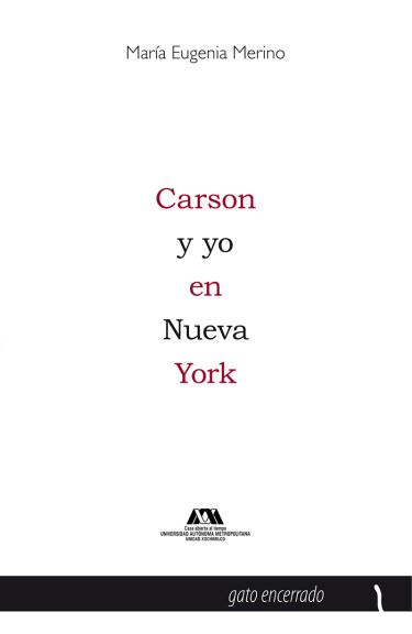 Carson y yo en Nueva York