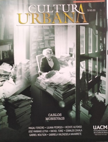 Cultura Urbana 66. Carlos Monsivais