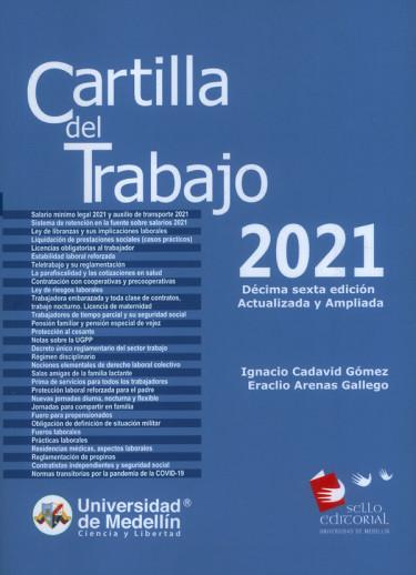 Cartilla del Trabajo 2021