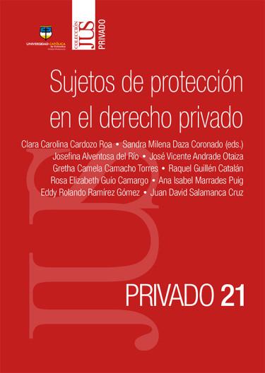 Sujetos de protección en el derecho privado