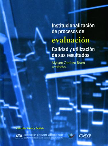 Institucionalización de procesos de evaluación