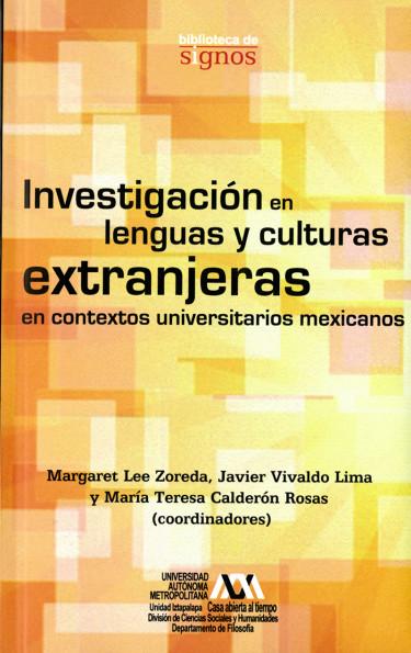 Investigación en lenguas y culturas extranjeras en contextos universitarios mexicanos