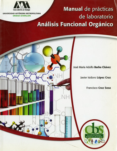 Manual de prácticas de laboratorio: análisis funcional orgánico