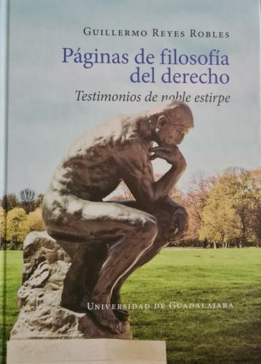 Páginas de filosofía del derecho