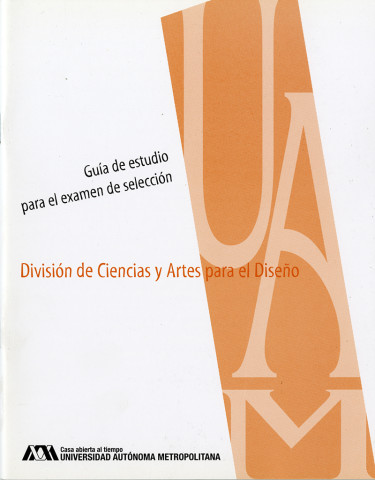 Guía de estudios para el examen de selección / CyAD