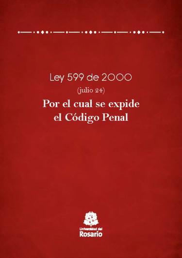 Ley 599 de 2000 (julio 24).