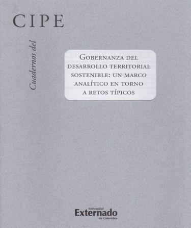 Cuadernos del CIPE No. 45.