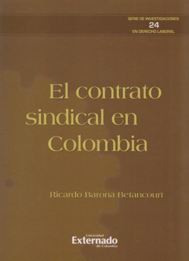 El Contrato Sindical en Colombia