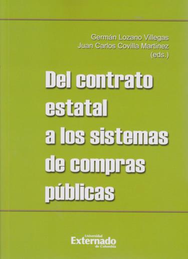 Del Contrato Estatal a los Sistemas de Compras Públicas
