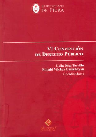VI Convención de derecho público