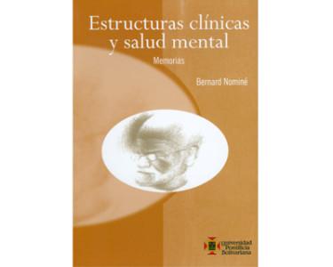 Estructuras clínicas y salud mental. Memorias