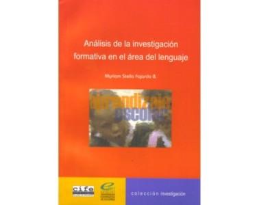 Análisis de la investigación formativa en el área del lenguaje de la especialización en aprendizaje escolar  y sus dificultades