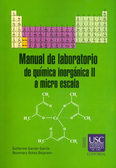 Manual de labolatorio de química inorgánica II a micro escala