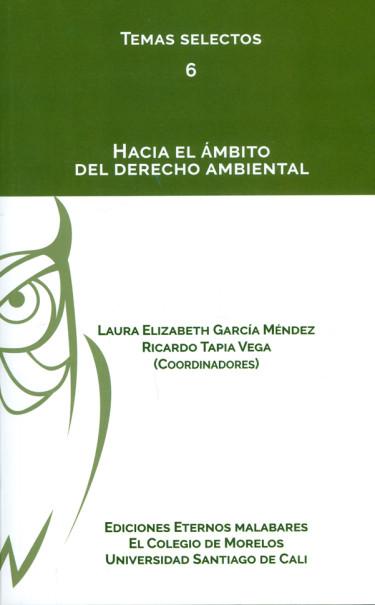 Hacia el ámbito del derecho ambiental. Colección Temas selectos N°. 6