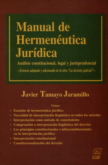 Manual de Hermenéutica Jurídica