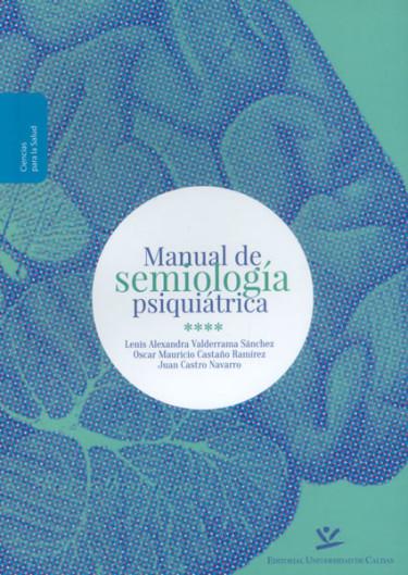 Manual de semiología psiquiátrica