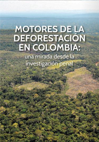 Motores de la deforestación en Colombia una mirada desde la investigación penal