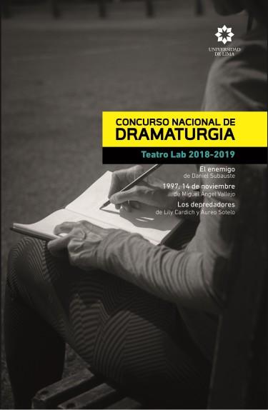 Concurso nacional de dramaturgia Teatro Lab 2018-2019