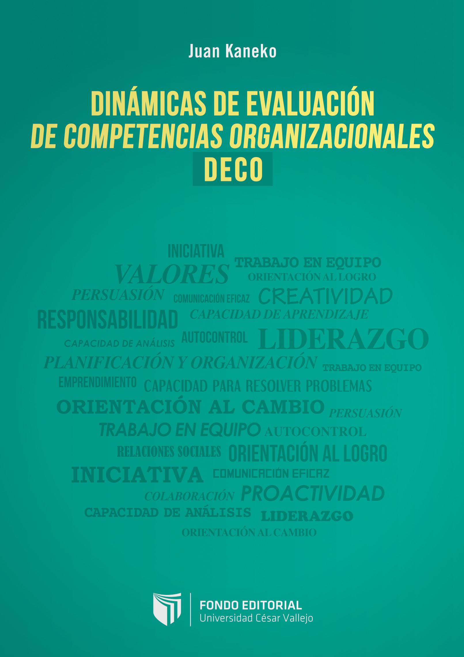 Dinámicas de evaluación de competencias organizacionales (DECO)