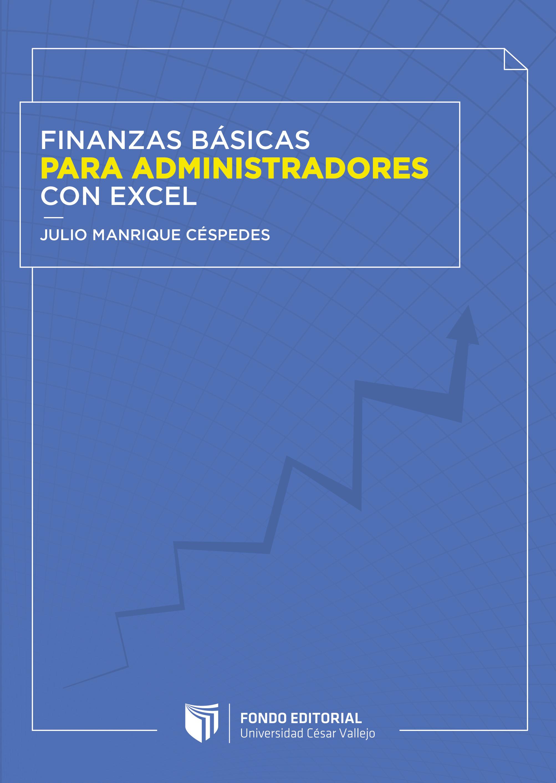Finanzas básicas para administradores con Excel