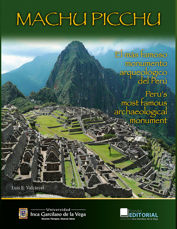 Machu Picchu (edición bilingüe) español-inglés