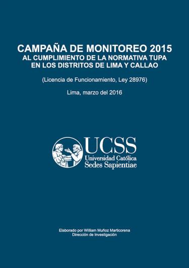 Campaña de monitoreo 2015