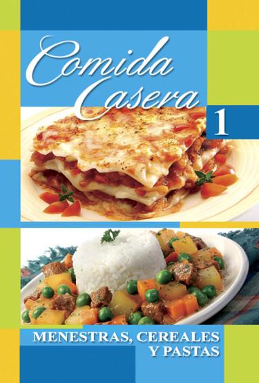 Comida casera 1 - Menestras, cereales y pastas