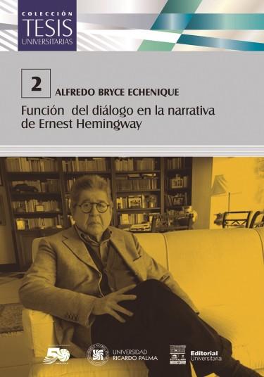Función del diálogo en la narrativa de Ernest Hemingway