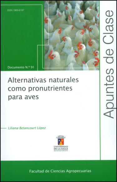 Alternativas naturales como para aves