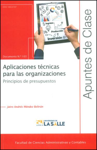 Aplicaciones técnicas para las organizaciones