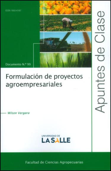 Formulación de proyectos agroempresariales