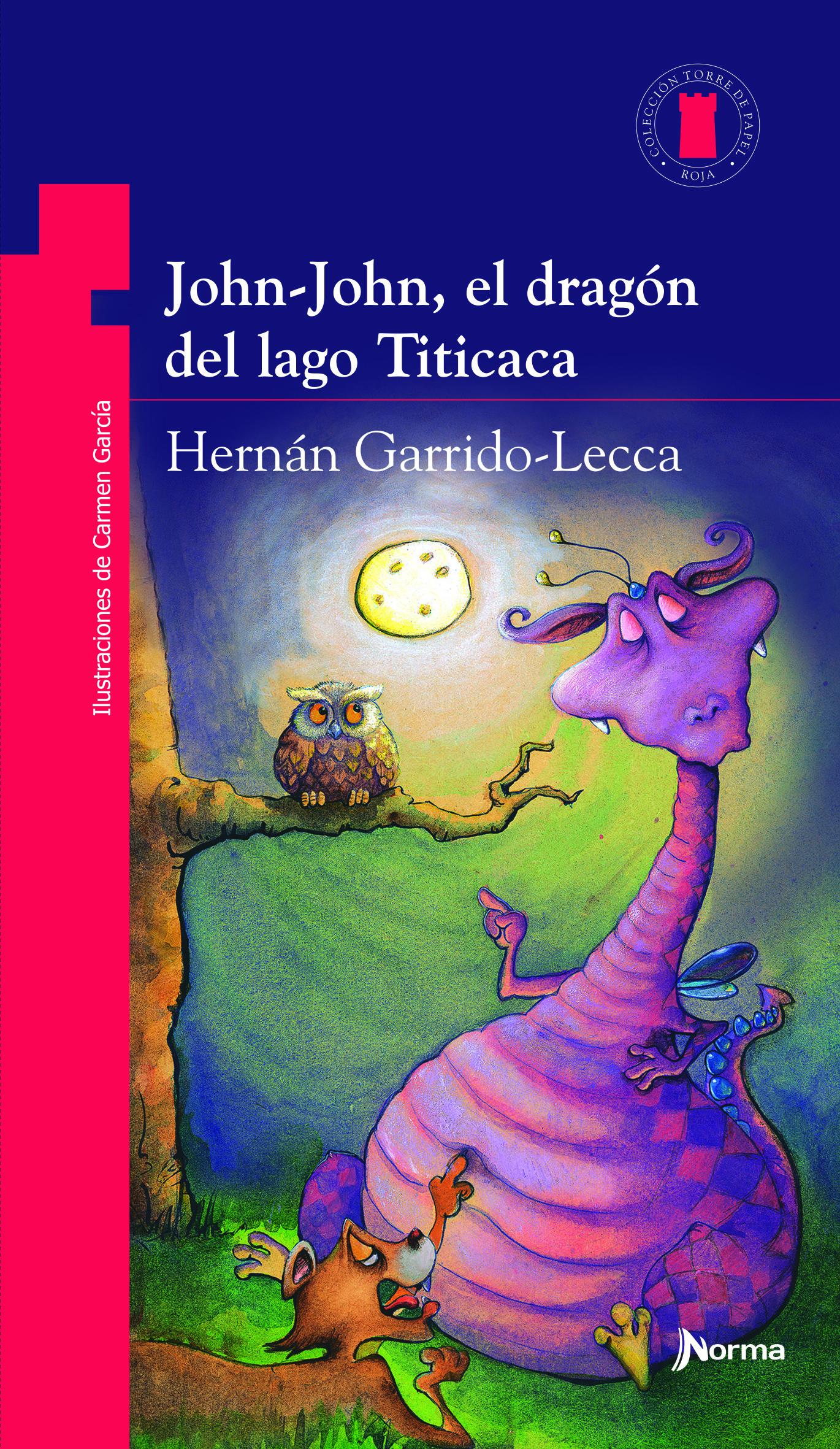 John-John, el dragón del lago Titicaca