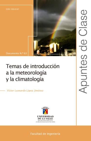 Temas de introducción a la meteorología y la climatología