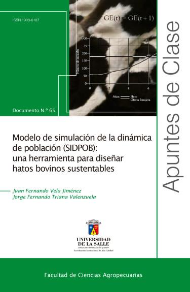Modelo de simulación de la dinámica de población (SIDPOB)