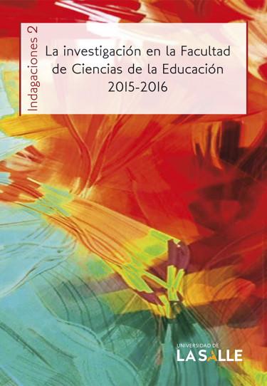La investigación en la Facultad de Ciencias de la Educación 2015-2016