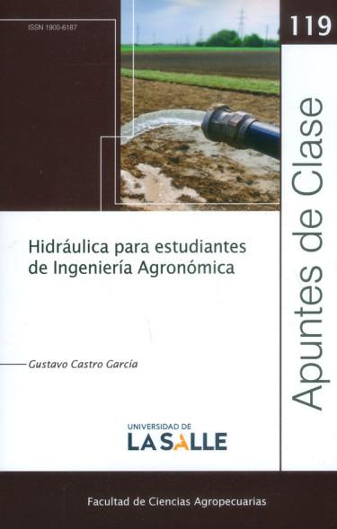 Hidráulica para estudiantes de ingeniería agronómica