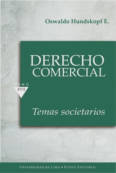 Derecho Comercial Tomo XVII