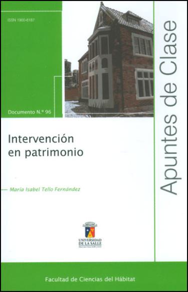 Intervención en patrimonio