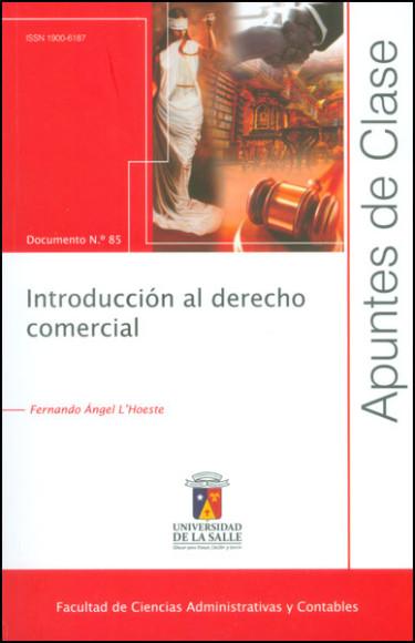 Introducción al derecho comercial