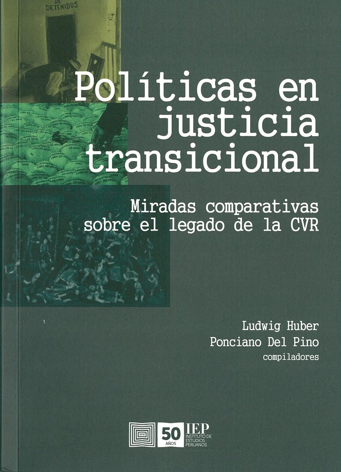 Políticas en justicia transicional