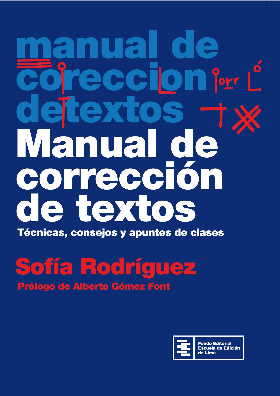 Manual de corrección de textos