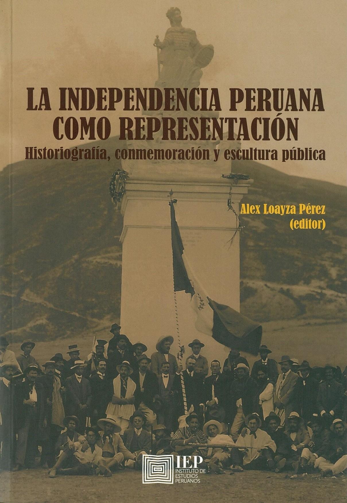 La independencia peruana como representación