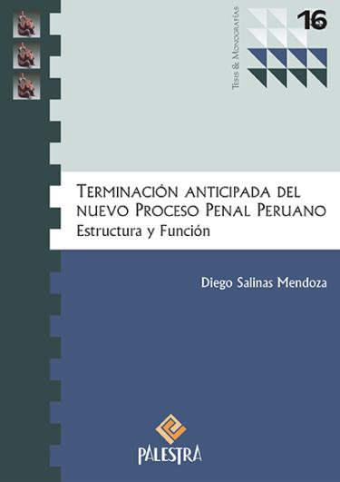 Terminación Anticipada Del Nuevo Procesal Penal Peruano