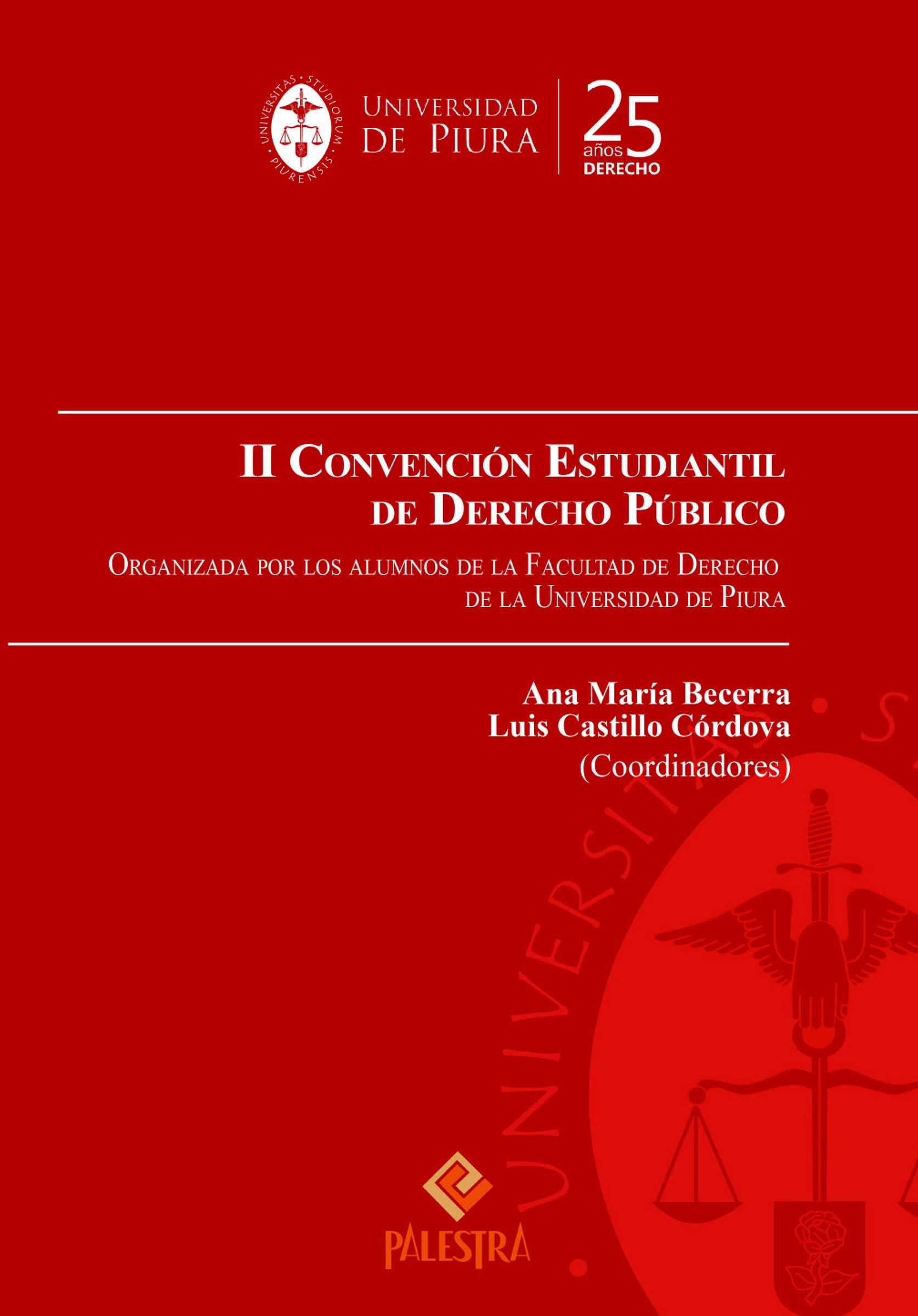 II Convencion Estudiantil De Derecho Publico
