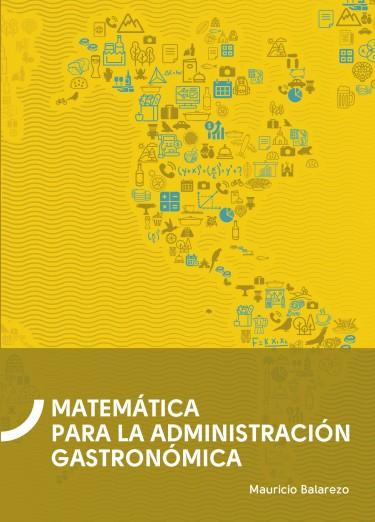 Matemática para la administración gastronómica