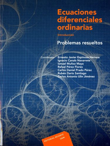 Ecuaciones diferenciales ordinarias. Introducción