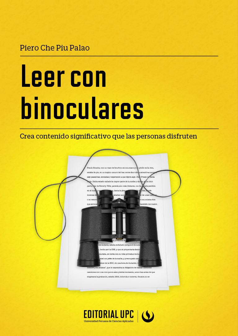 Leer con binoculares