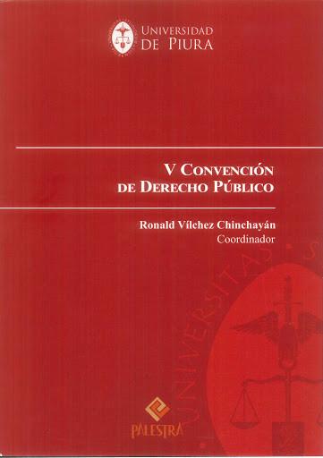 V Convención de Derecho público